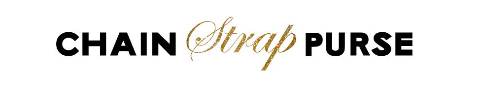 Chain Strap Purse - Fashion Blog - Logo design