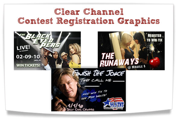 clear channel contest registration graphics