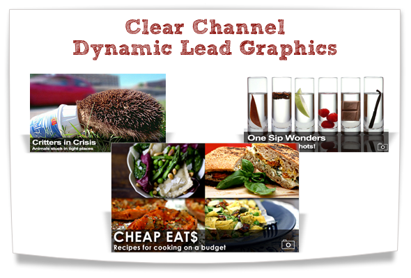 clear channel dynamic lead graphics
