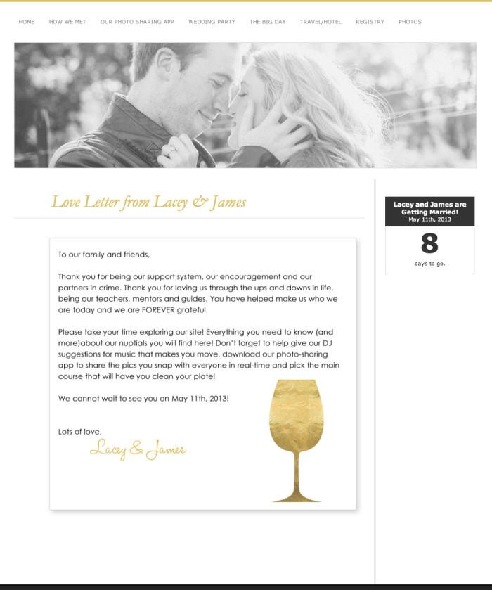 Weddings masigns black tie wedding wedding website junglespirit Choice Image