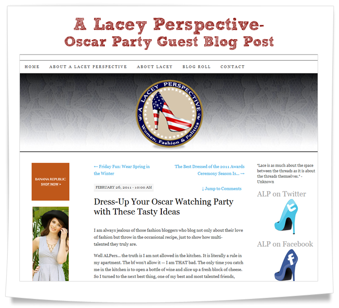 a lacey perspective guest blog post oscars