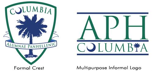 Columbia, South Carolina Alumnae Panhellenic Logo Suite