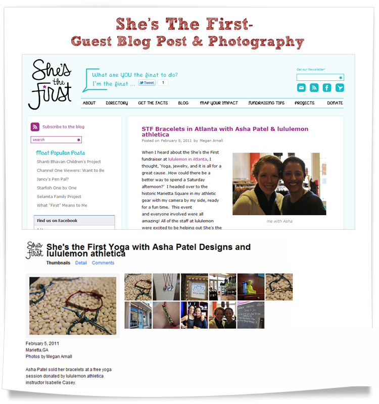 shes the first blog and photography contributions